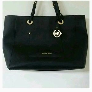 Leather Michael Kors tote